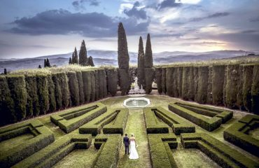 italian garden hostorical villa Tuscany destination event