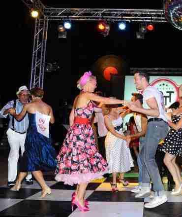Monica Balli 50 theme party