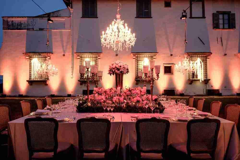 omantic evening decor lighting destination tuscany event