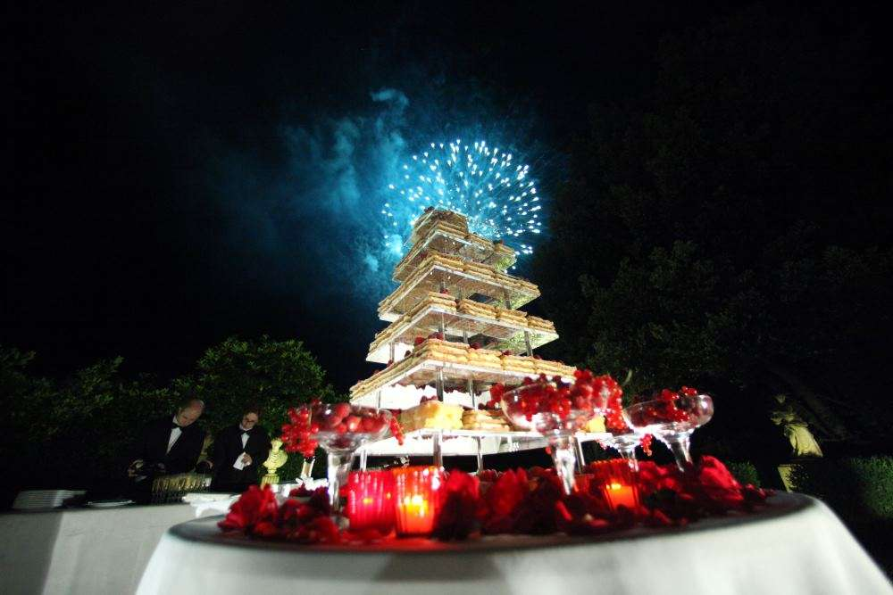 wedding cake italian style millefoglie