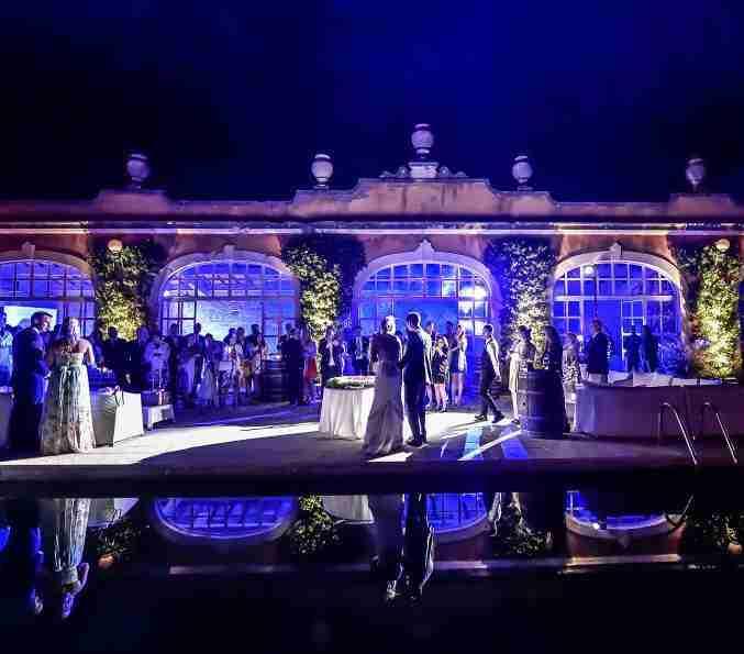 wedding reception Tuscany