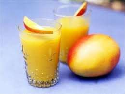 Mango and Peach fizz