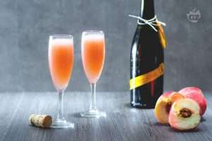 Champagne Peach Punch
