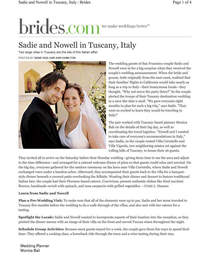articolo brides monica balli wedding