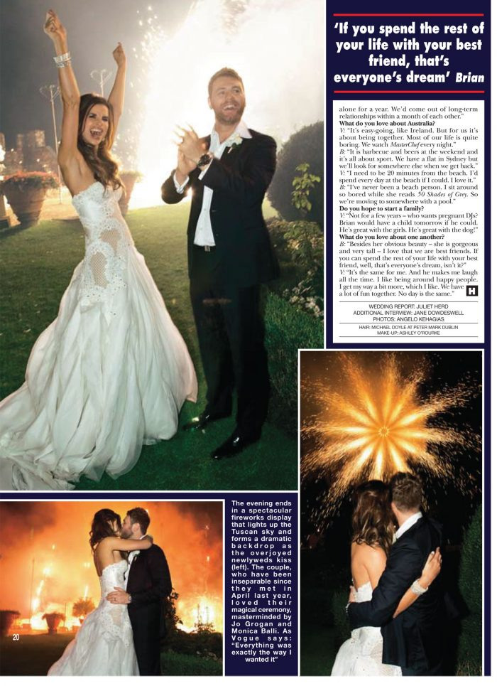 brian mcfadden wedding by monica balli