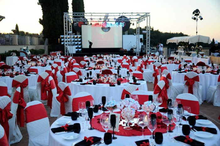 Themed event in tuscany