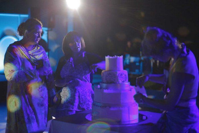 wedding cake wedding in tuscany