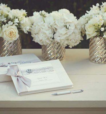 Paperware for wedding reception
