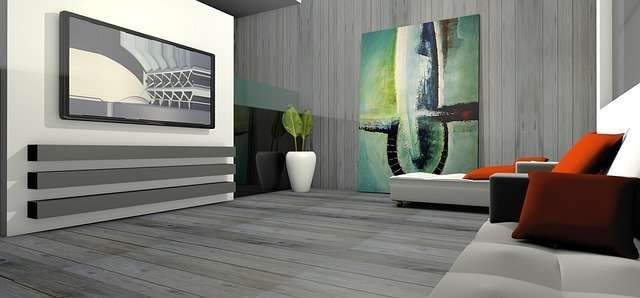 living room 3D Graphics